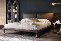Adam Modern Leather Bed by Cattelan Italia