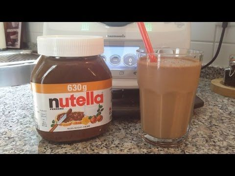 Thermomix® TM 5® Nutella® Frappuccino - YouTube | Cocktails/Smoothy ...