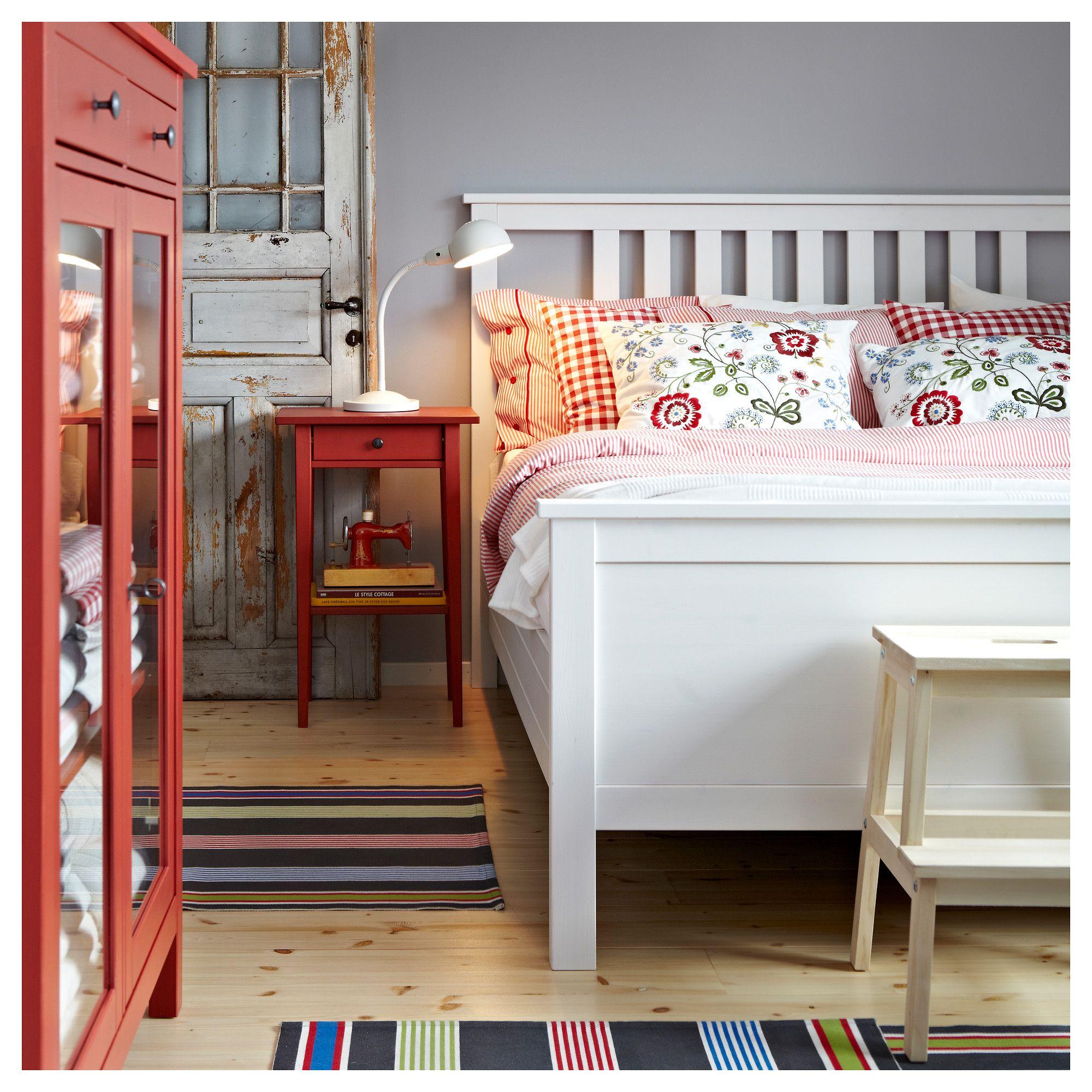 HEMNES Nightstand - red - IKEA | Home ideas | Pinterest | HEMNES ...