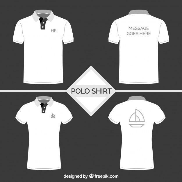 Download Baixe Colecao Polo Branco Gratuitamente Polo Shirt Design White Polo Shirt Polo Shirt