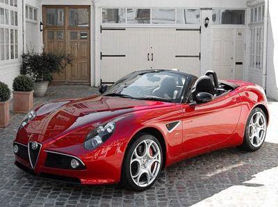 Alfa Romeo 8c Spider With Images Alfa Romeo Alfa Romeo 8c