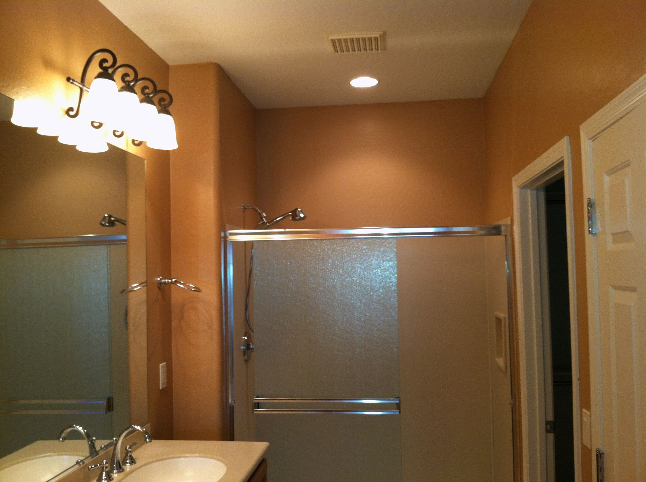 Interior Bathroom Dunn Edwards Color Saddle PAINT MY WALLS Pinterest