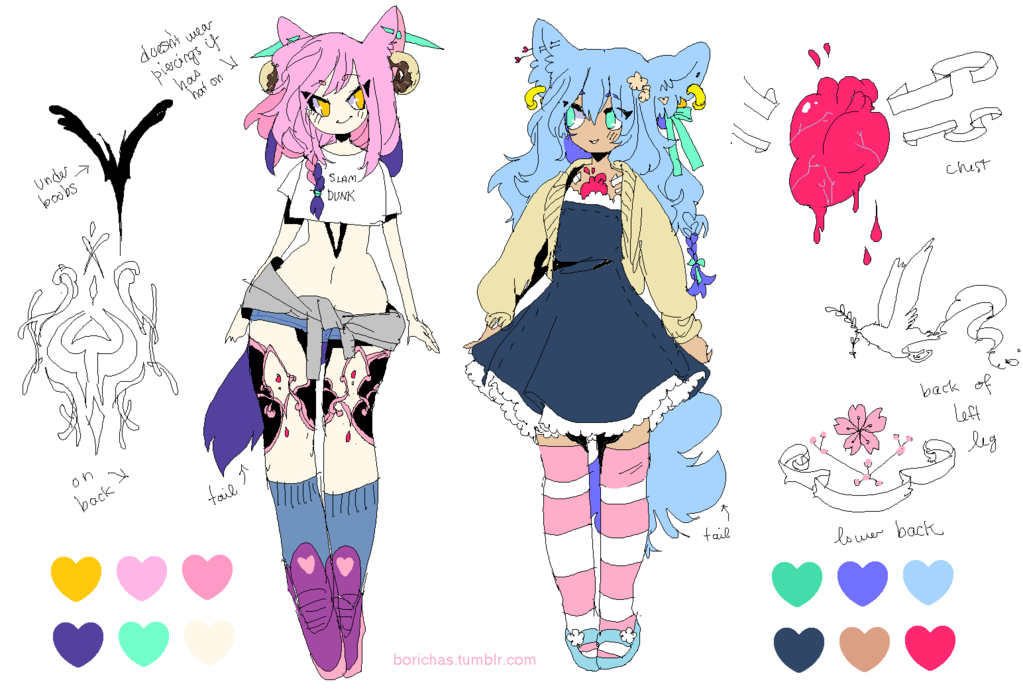 Custom Couple adopts pt2 by Costly.deviantart.com on @DeviantArt