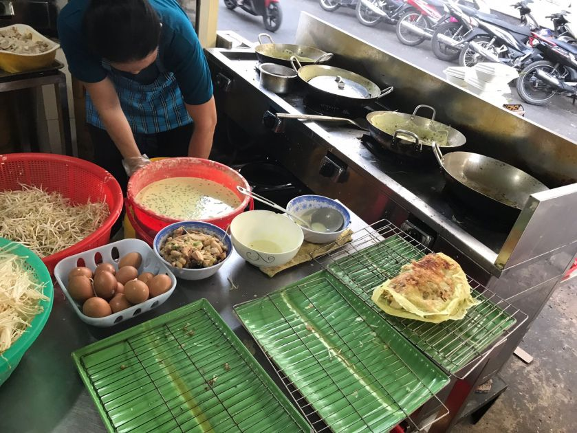 Saigon Food Tour Stop 1 Banh Xeo Tonemanblog Food Tours Banh Xeo Saigon