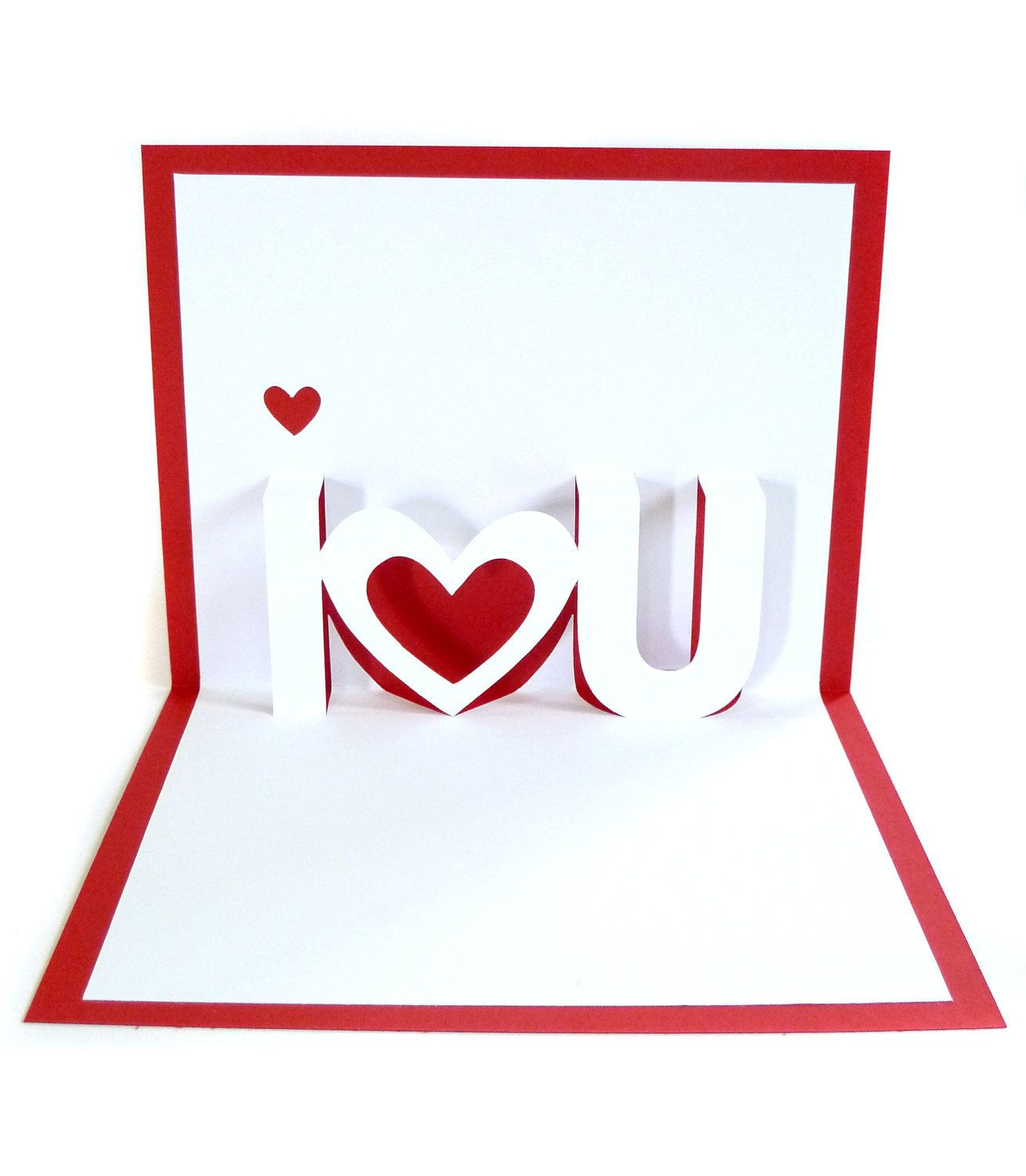 The Captivating 28 I Love U Pop Up Card Template Thank You Pop Up With Regard To Pop Up Card Templates Valentines Cards Valentine Greeting Cards