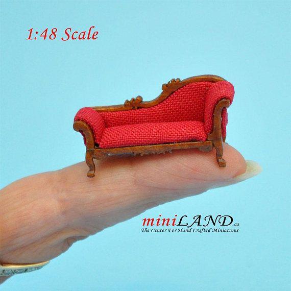 Quarter Scale Chaise Lounge Sofa
