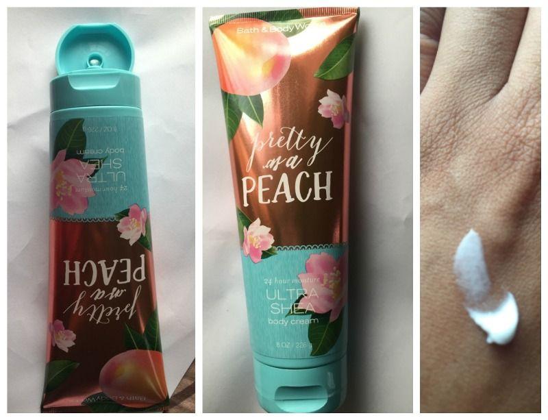 Bath And Body Works Pretty As A Peach Body Cream Review Body Cream Bath And Body Bath And Body Works