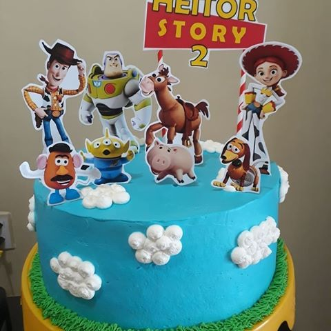 Awesome Pin By Jamie Lynn On Kanon Clark Toy Story Birthday Cake Birthday Cards Printable Trancafe Filternl