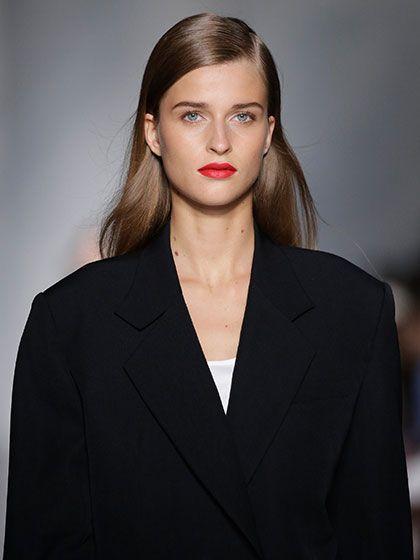NYFW Beauty Trends Spring 2016 - DKNY
