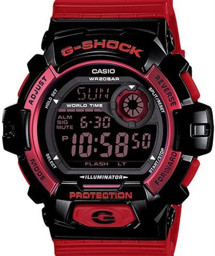 5fb88e9cc07 Red and Black G-Shock Watch