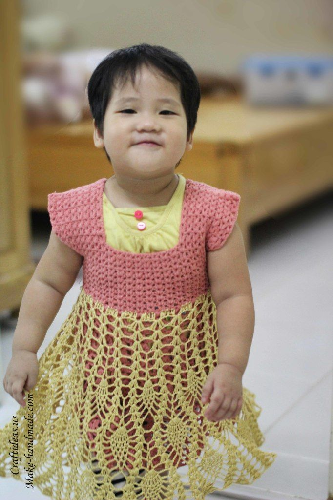 Crochet fashion for kids