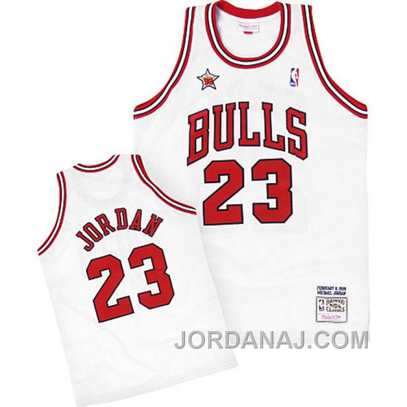 Michael Jordan jersey-Buy 100% official Mitchell and Ness Michael Jordan  Men s Authentic White 600f3a8b1