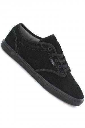 Vans Atwood Low Suede Schuh Women Black Black Kaufen Bei Skatedeluxe Vans Sneakers Suede