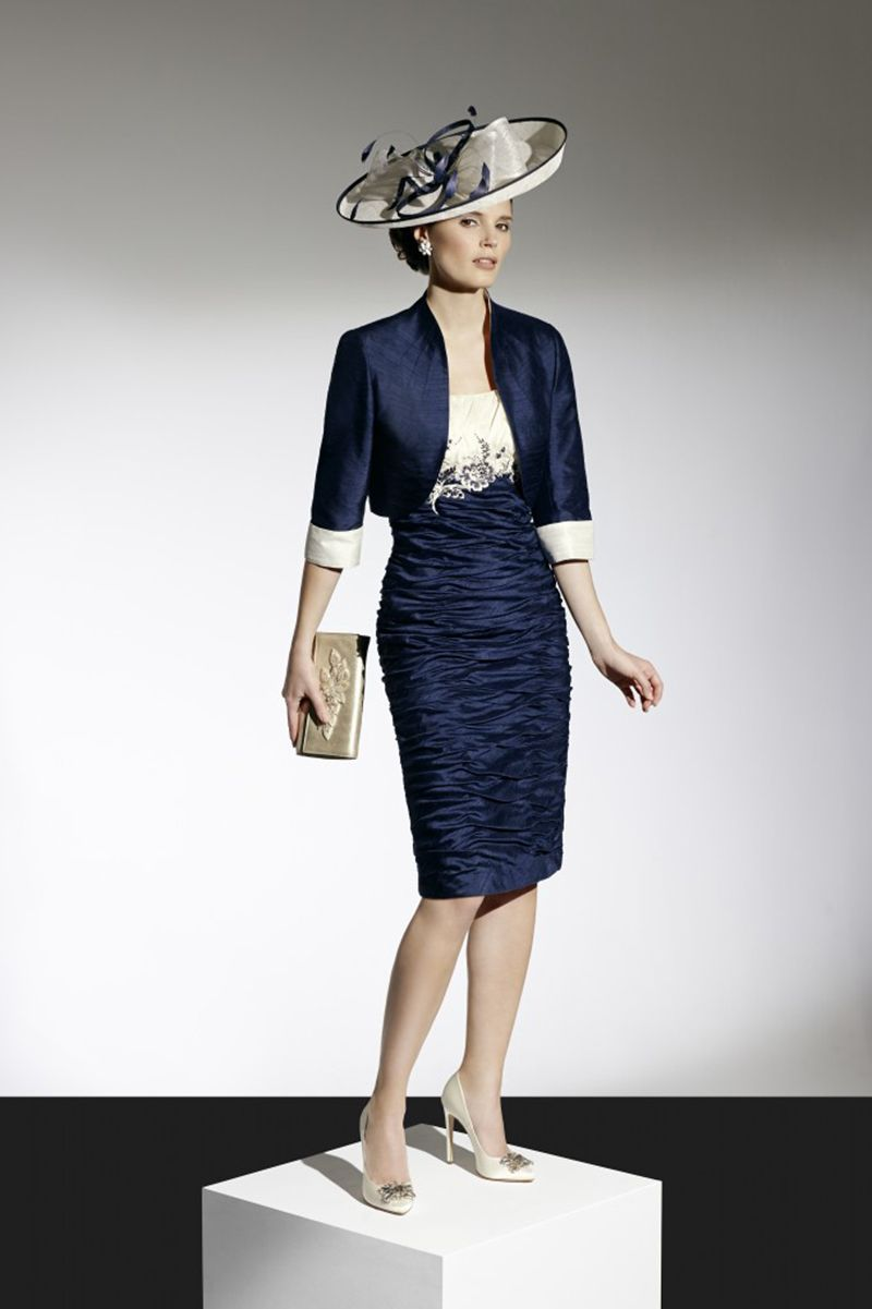 Condici Short Dress With Bolero Jacket 09640 Catherines