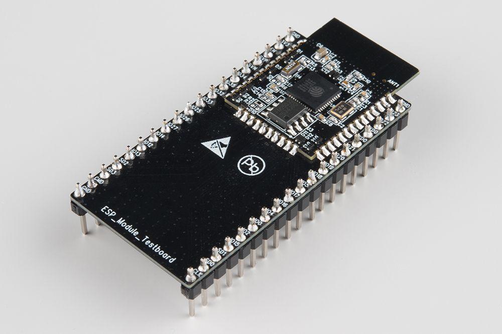Esp Wroom 03 Module Soldered On A Testbed Com Imagens