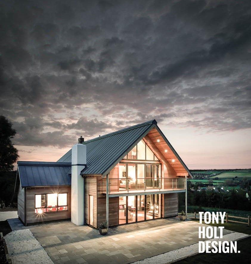 Rural Design Ruraldesign: Tony Holt Design : Self Build Completed Project. Dairy