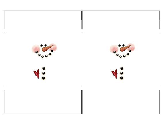 Snowman Candy Bar Template 2 To A Page Png Photo: This