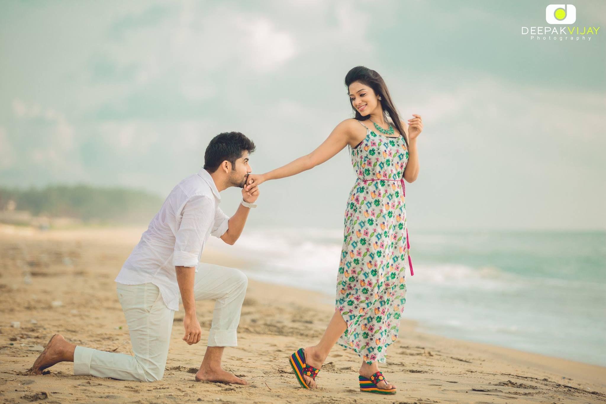 Gorgeous Pre Wedding Photos Of Sunmusic Vj Diya Menon Karthik