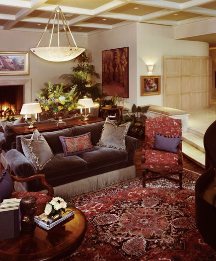 Interior Decorators In Michigan: Michigan Governor's Residence; A Wallace Frost Home. This