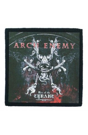 ARCH ENEMY - Rise Of The Tyrant (toppa piccola)   - misure: (larghezza 9,8 cent. - altezza 9,8 cent.)