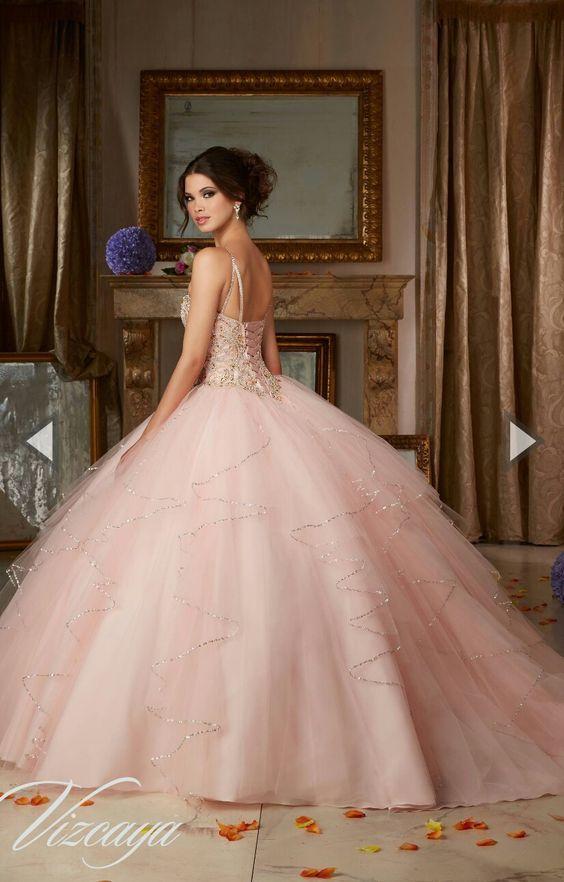 33 Vestidos de xv años estilo princesa | Red quinceanera dresses, 15 ...