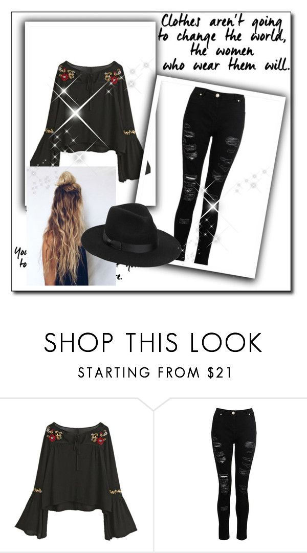 """""""Bez naslova #78"""" by selma-97 ❤ liked on Polyvore featuring Lack of Color"""