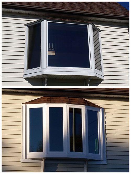 Adding A More Sleek Design Taking This Bay Window To A Bow Window Casas Ventanas