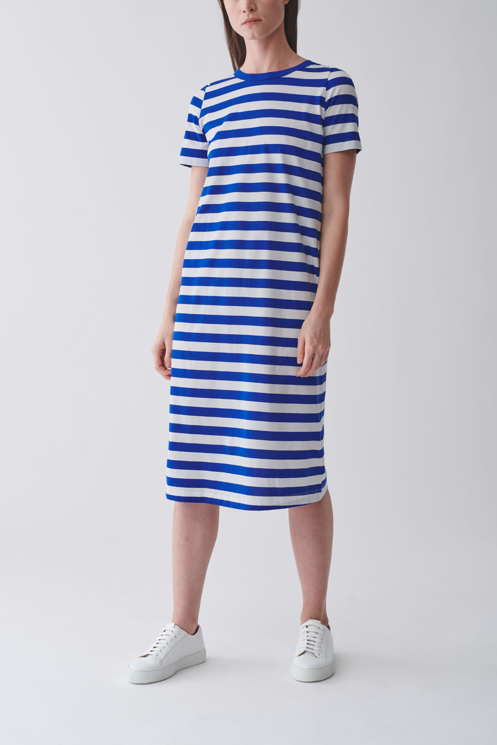 37+ Blue and white striped dress info