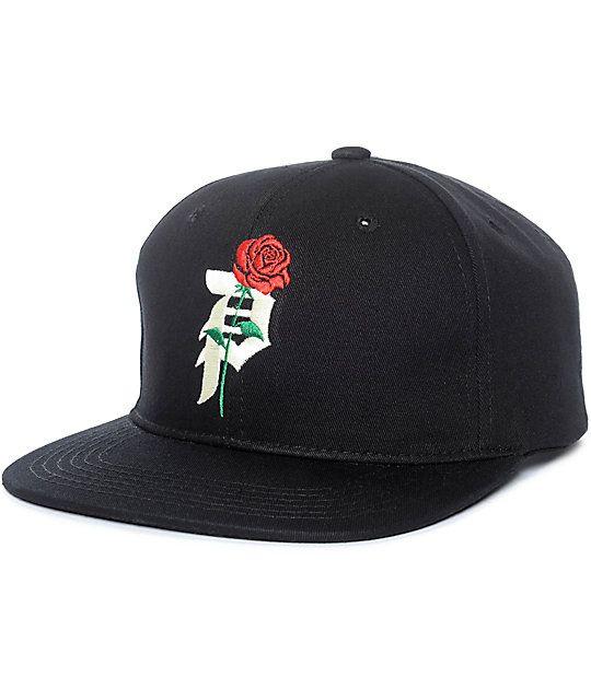 8499931d006 Primitive Heartbreakers Black Snapback Hat
