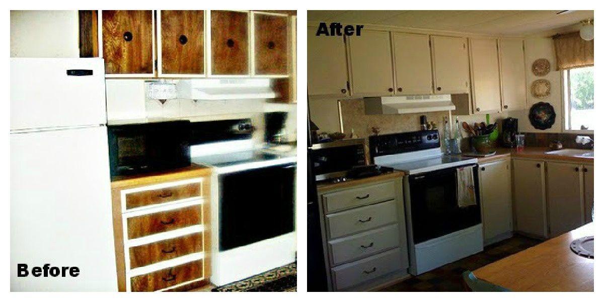 Mobile home makeovers, Mobile home makeover, Mobile home redo