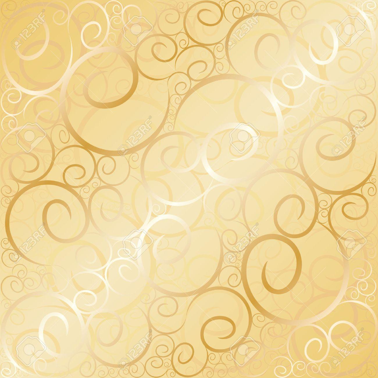 Gold Swirl Background   www.pixshark.com - Images ...