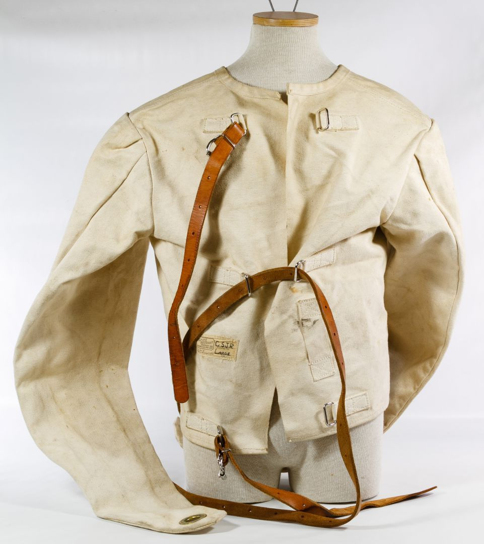 Lot 617: Strait Jacket By Humane Restraint