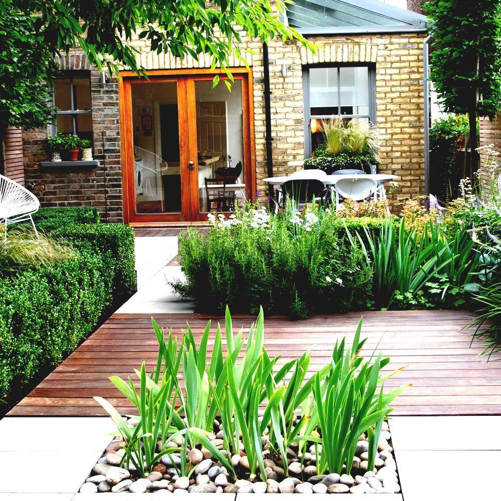 Elegant Hinterhof Ideen, Ohne Gras Kleine Landschaftsbau Amys Büro Modern  #Gartendeko