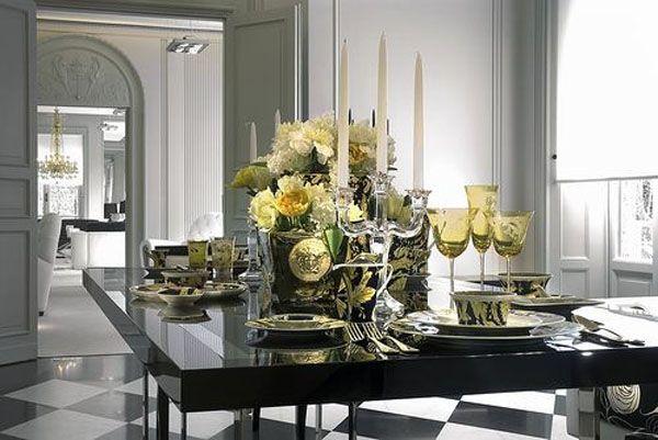 Dining | Versace Home Decor | interiors | Pinterest | Versace ...