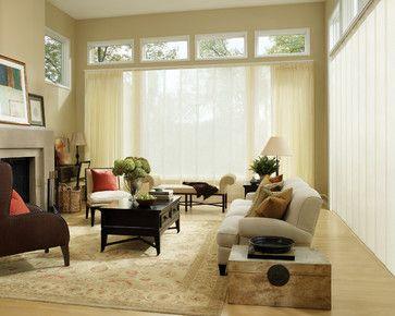 Hunter Douglas European Style Window Treatments and Draperies #Hunter_Douglas #European #Style  #Blinds #Window_Treatments #Draperies