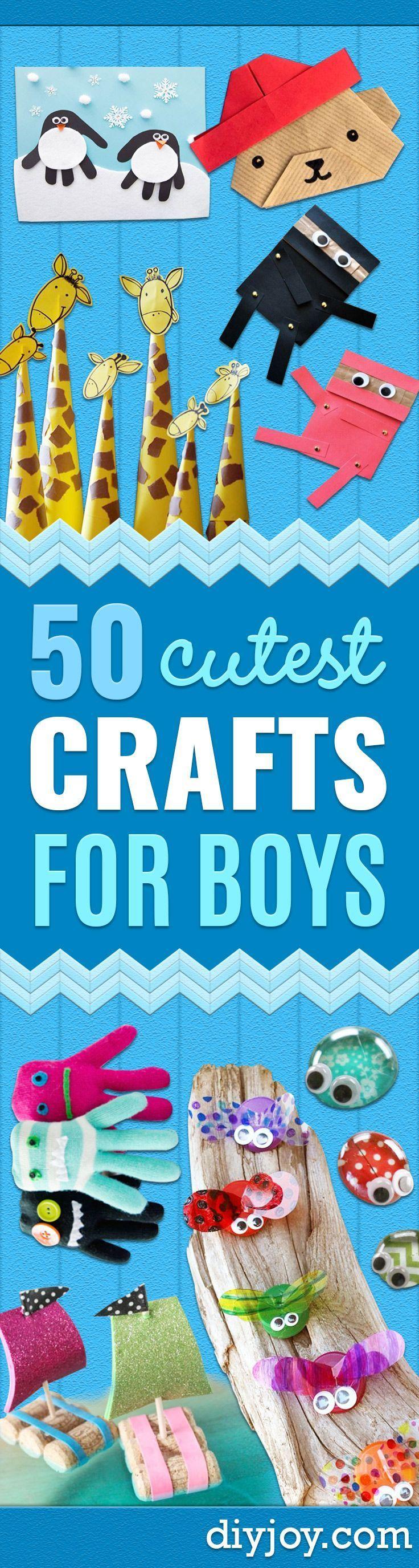 50 Cutest Crafts For Boys Diy Crafts Crafts For Boys Crafts