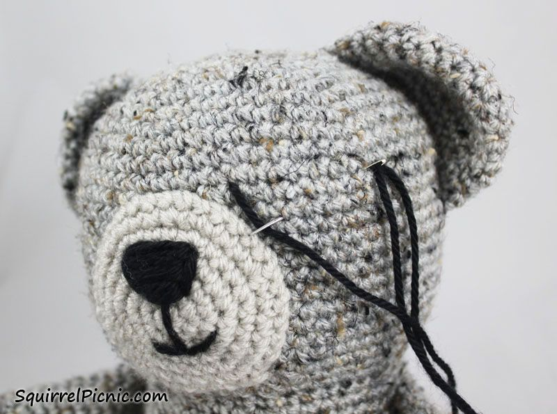 Eyes For Amigurumi : Sleepy bear eyes 3 amigurumi beginning pinterest bears