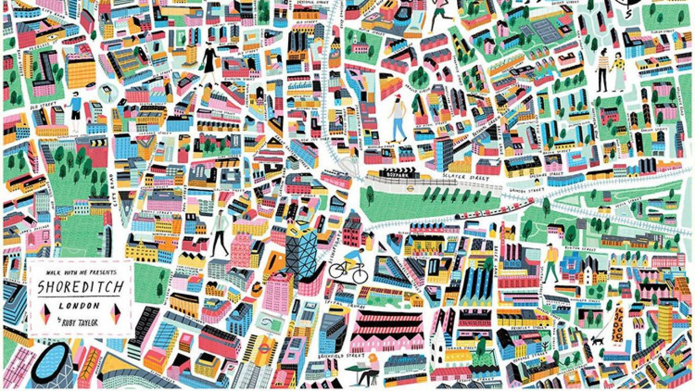 Check Out These Cool London Neighbourhood Maps Created By Local