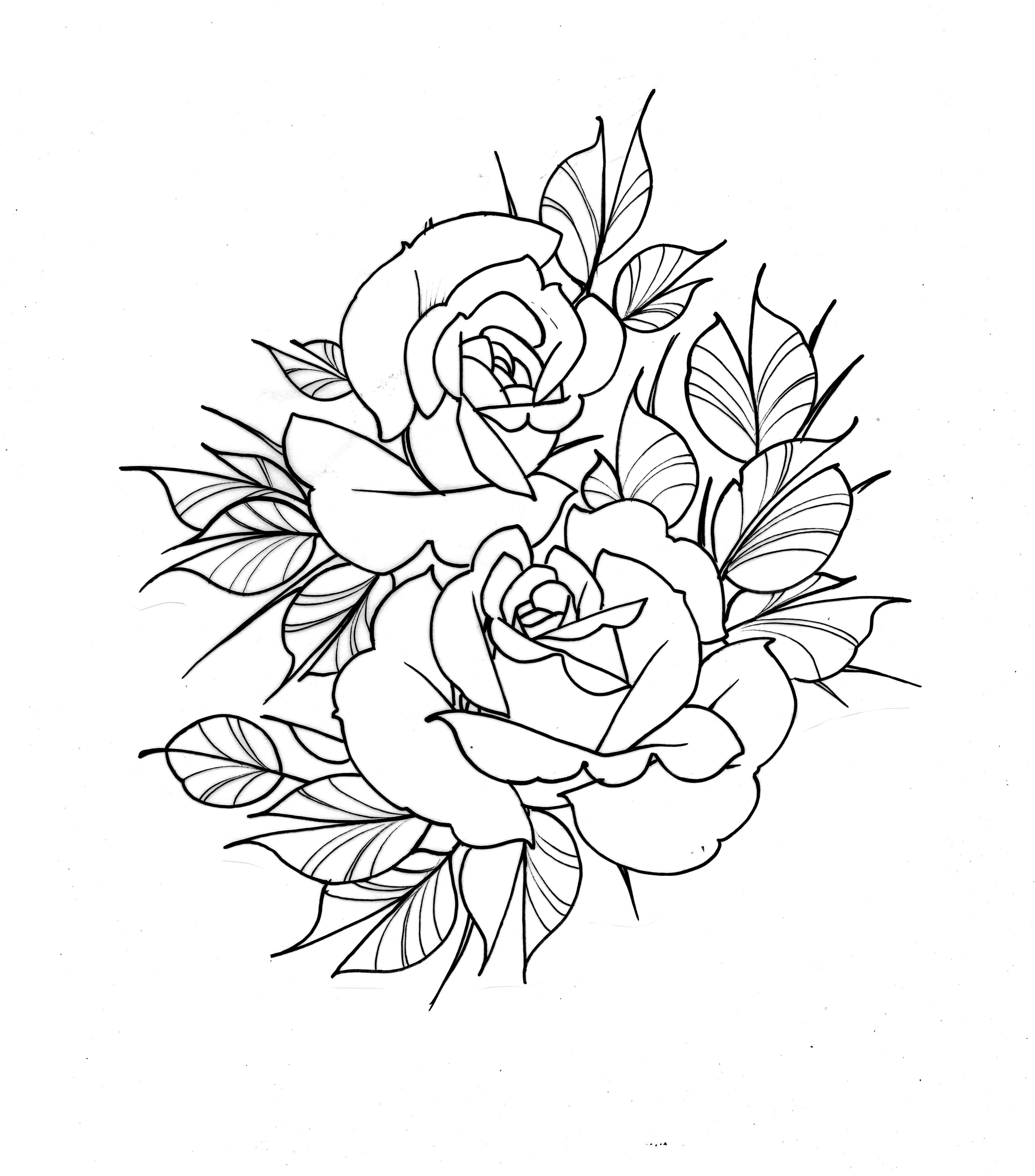 Roses Tattoo Sketch Design Sketch Tattoo Design Rose Tattoos Clock Tattoo