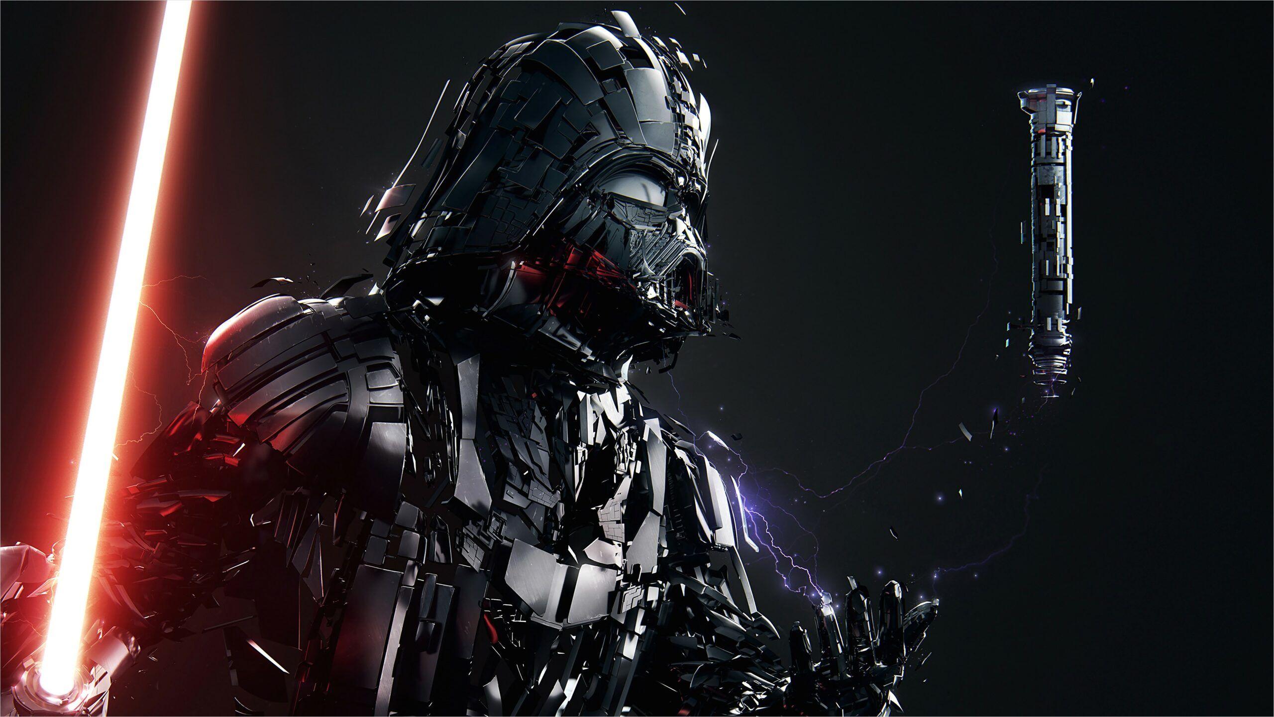 4k Wallpaper Darth Vader In 2020 Darth Vader Wallpaper Star Wars Wallpaper Star Wars Fan Art