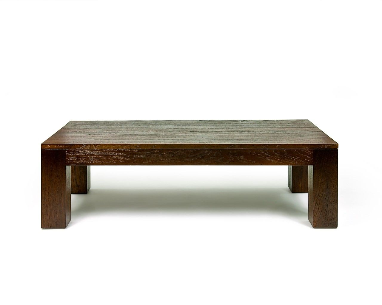 Coffee Tables Square Brown Modern Pattern Varnished