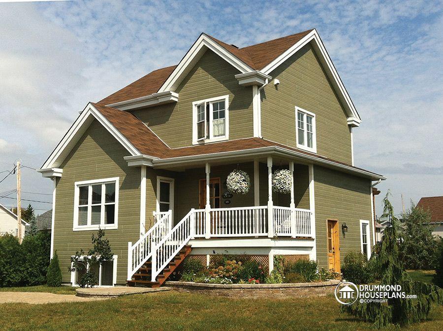 House plans with basement apartment Drummond Plans