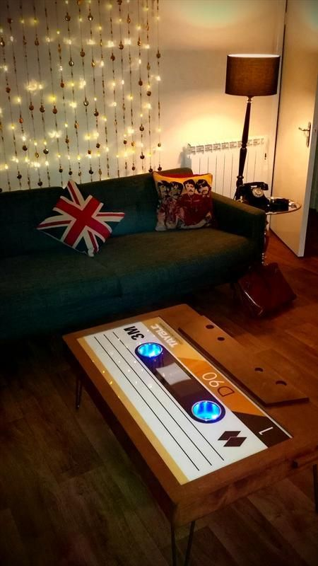 Tayble Cette Tape Coffee Table With Led Cup Holders Inspiration For Our New Home Pinterest And Woods