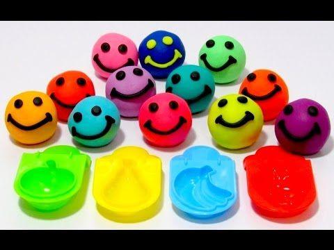 Учим цвета на английском языке со смайликами из пластилина ...