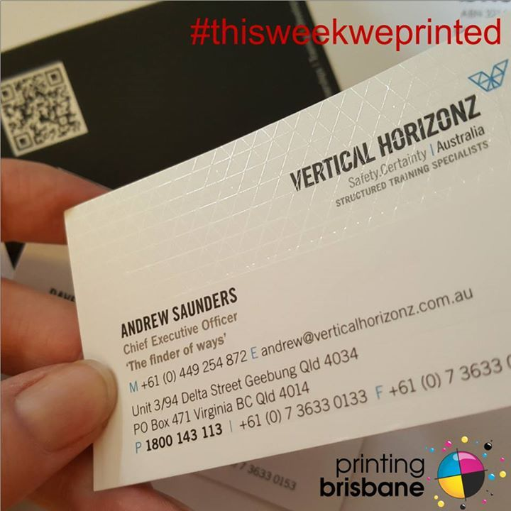 Whats not to love about these amazing business cards for vertical whats not to love about these amazing business cards for vertical horizonz australia on thisweekweprinted reheart Images