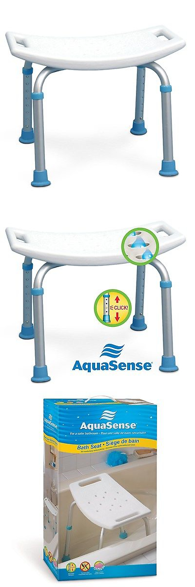 shower and bath seats aquasense adjustable bath and shower chair with non slip seat