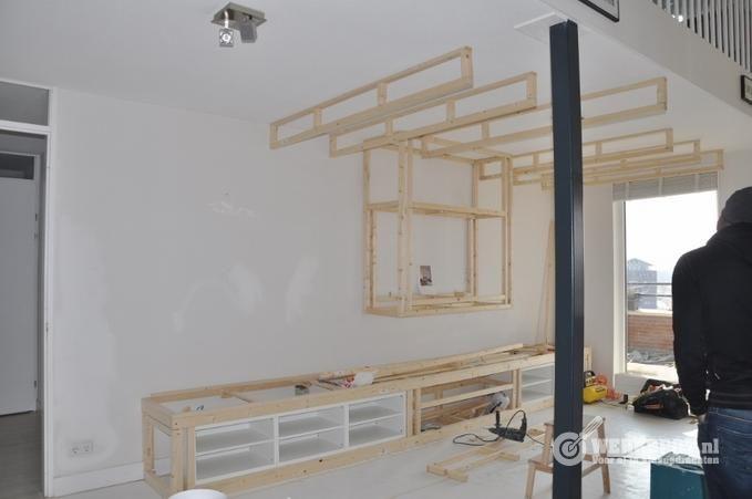 Verlaagd Plafond Woonkamer : Verlaagd plafond woonkamer verlaagd plafond plaatsen
