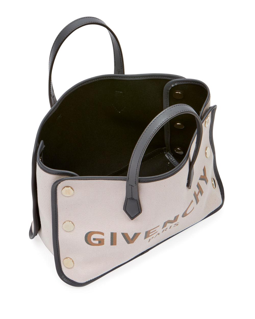 Givenchy Bond Mini Canvas Logo Tote Bag Mini Tote Bag Mini Tote Tote Bag