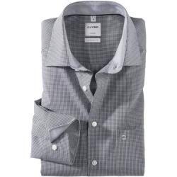 Olymp Luxor Hemd, comfort fit, New Kent, Schwarz, 45 Olymp,  #Comfort #fit #fotodemoda #hemd #kent #Luxor #Olymp #schwarz
