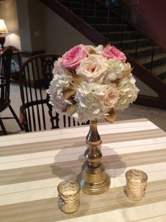 New Leaf Florist Okc Weddings Blush Gold Wedding